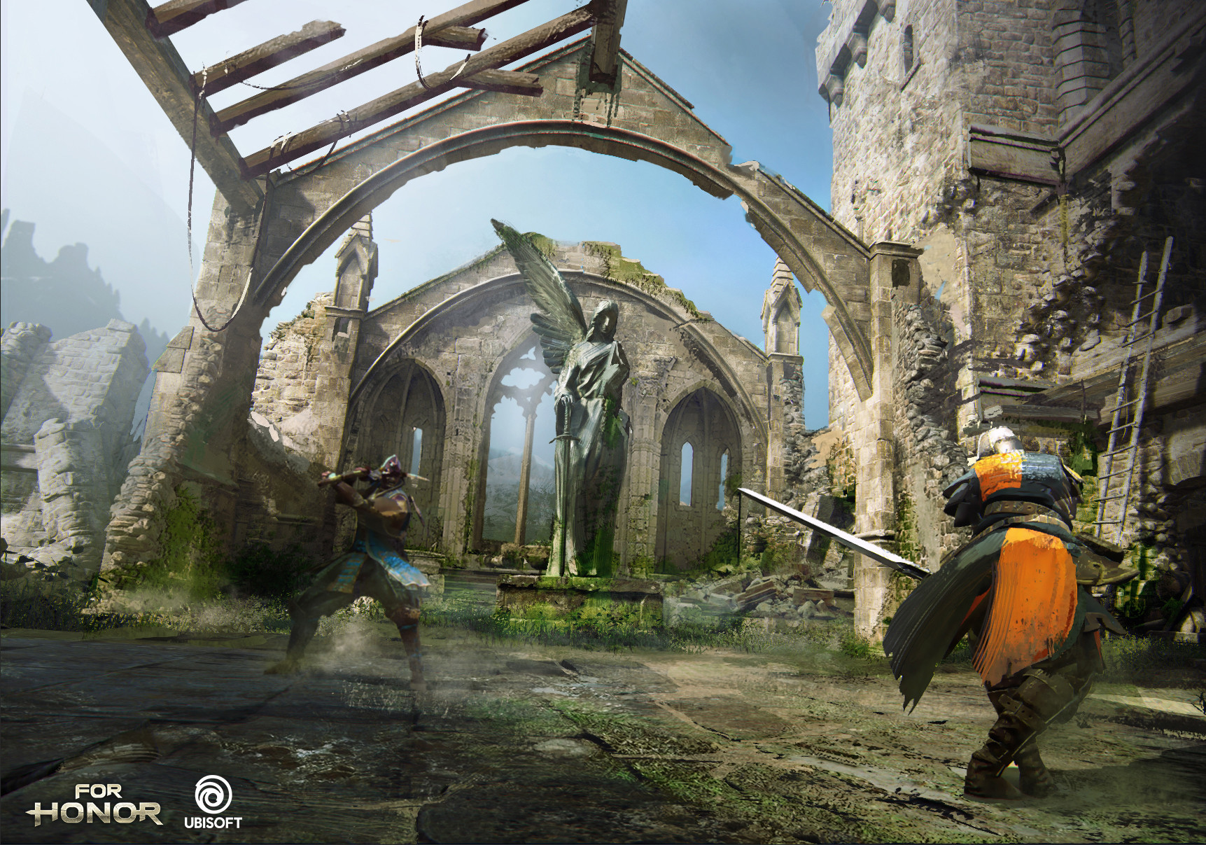 For Honor 60 Concept Art By Damian Buzugbe 46