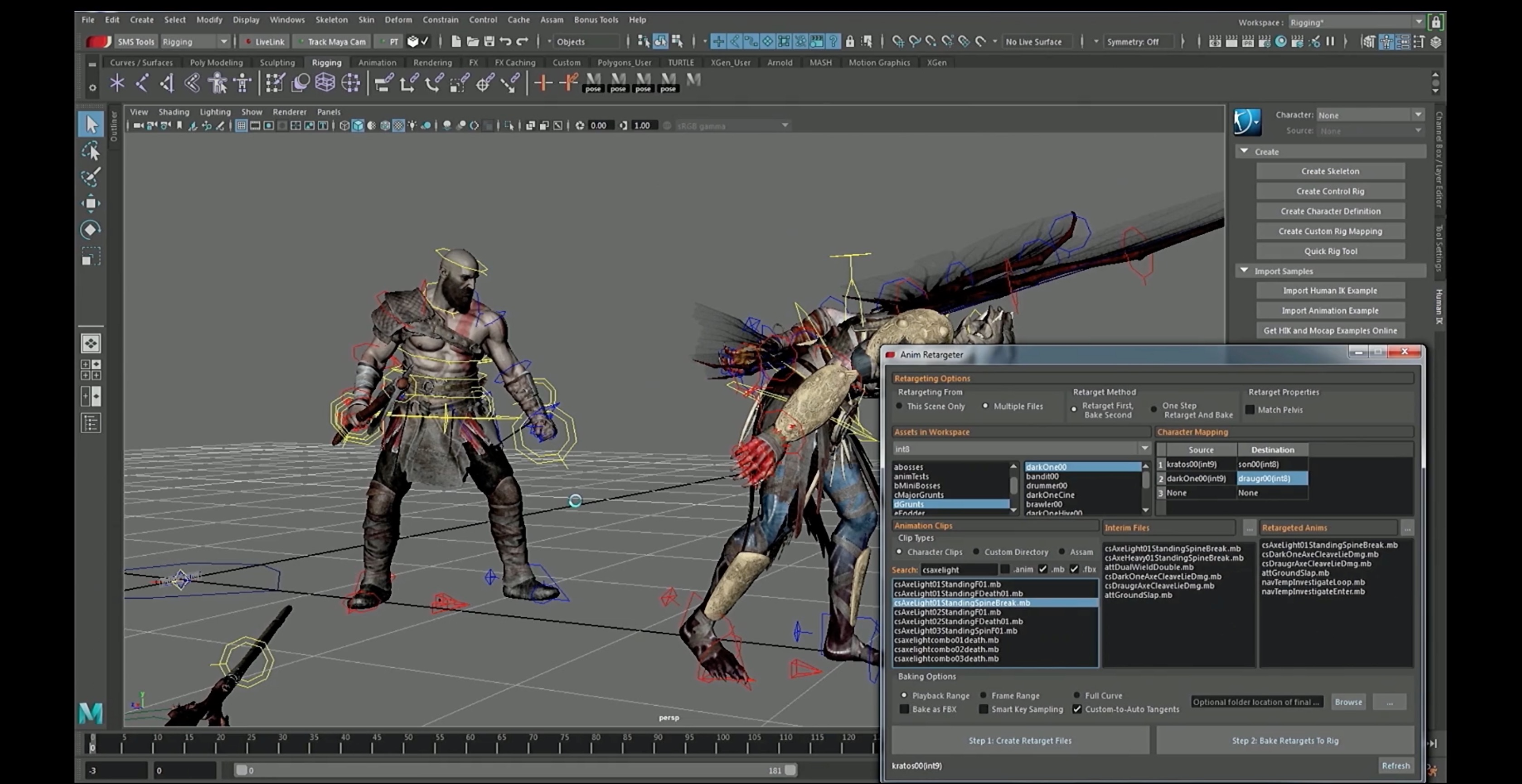 God Of War: Creating the Animation