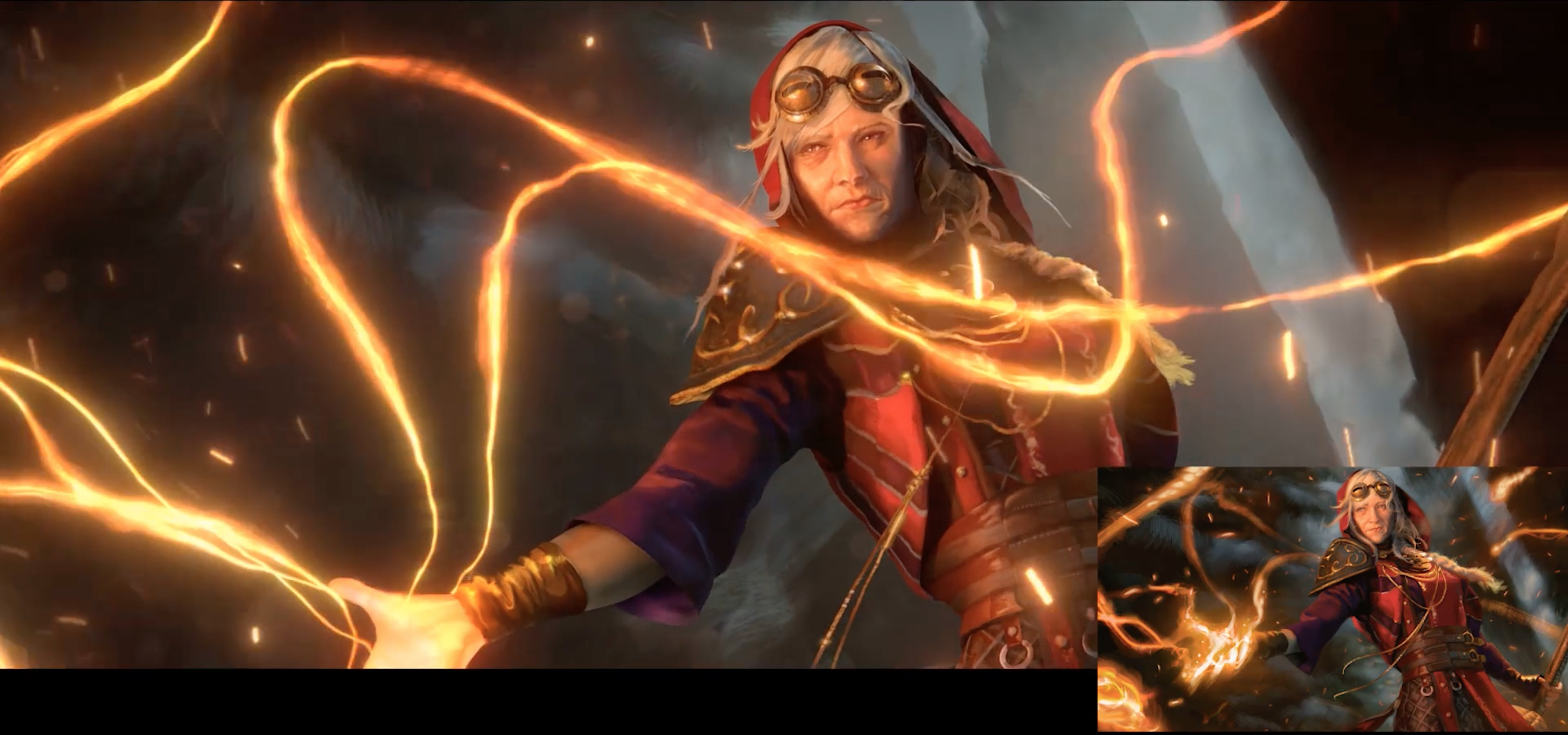 Making of Magic: the Gathering Cinematic