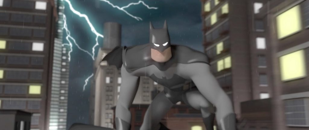 Animation - Headed for downtown Gotham