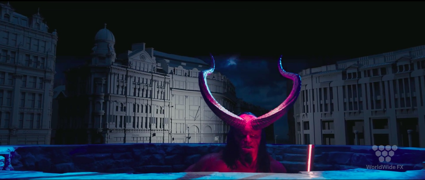 Hellboy VFX Breakdown by Worldwide FX