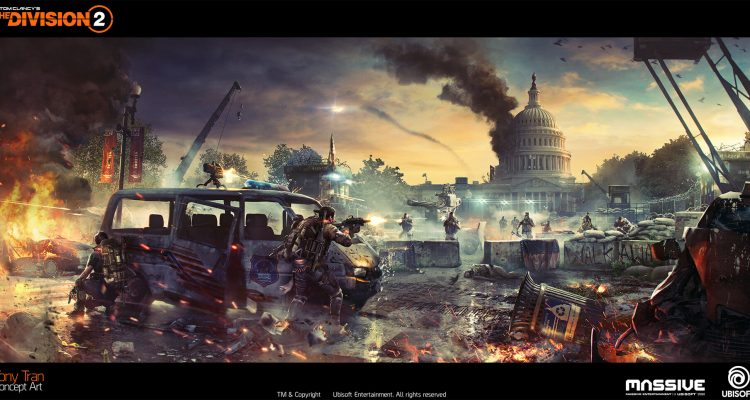 The Division 2 Concept Art by Tony Tran