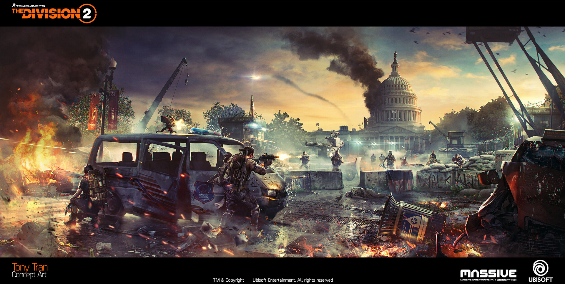 The Division 2 25 Concept Art By Tony Tran