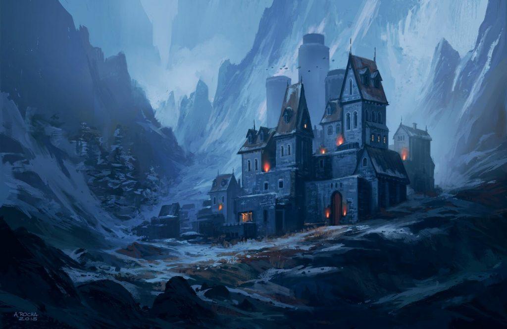 Andrea Rocha - Painting a Fantasy Castle