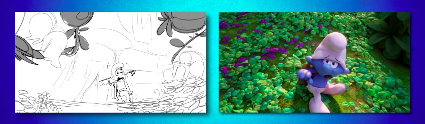 Art To Animation - SMURFS - THE LOST VILLAGE