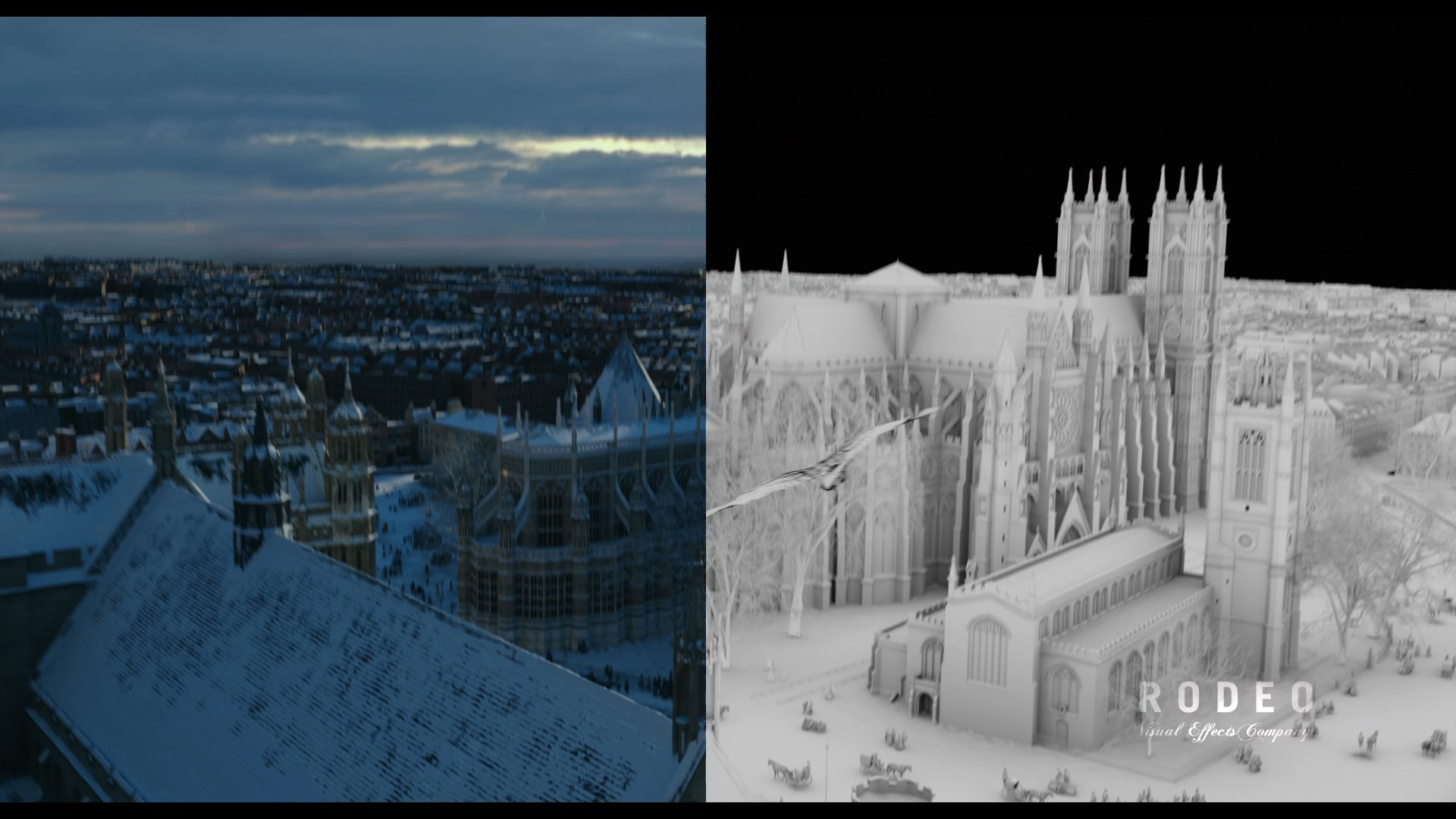 The Nutcracker and the Four Realms VFX Breakdown by Rodeo FX