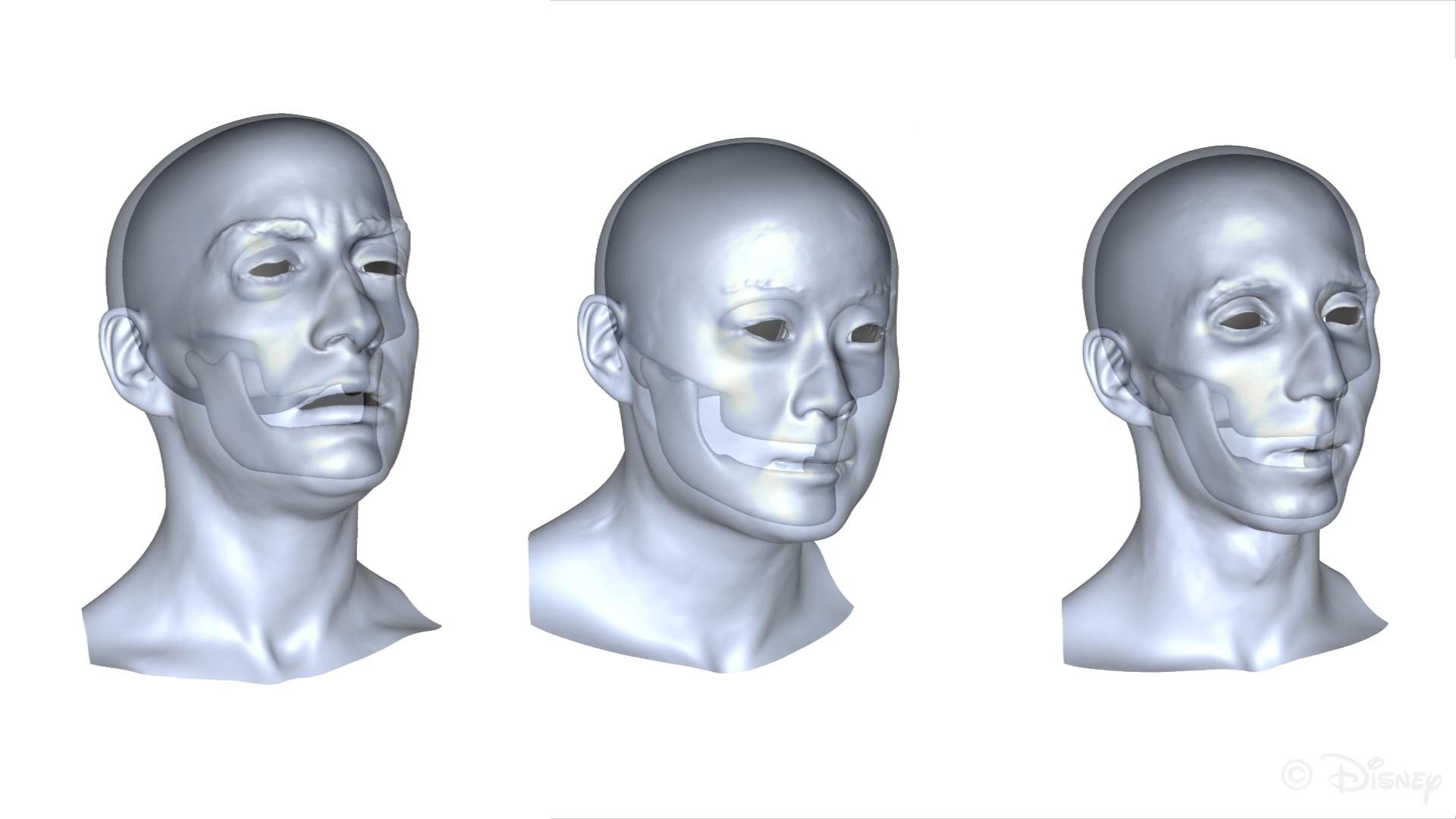 Disney Markerless Jaw Tracking for Facial Performance Capture