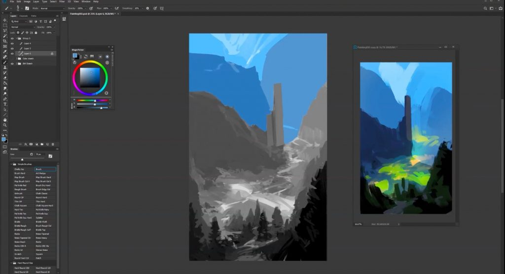 Making Of Mountain Dwelling