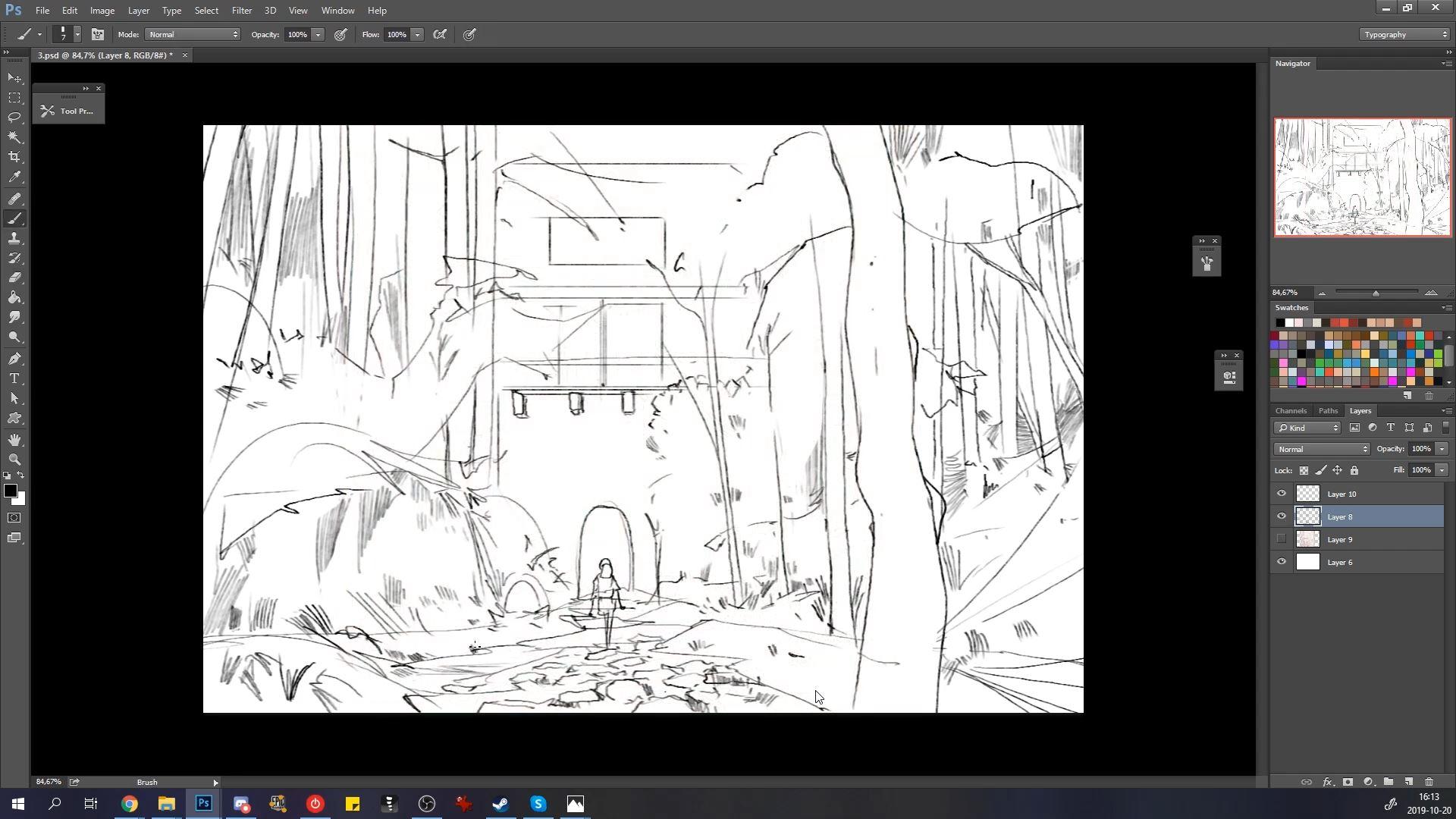 Reimagining Studio Ghibli with Atey Ghailan