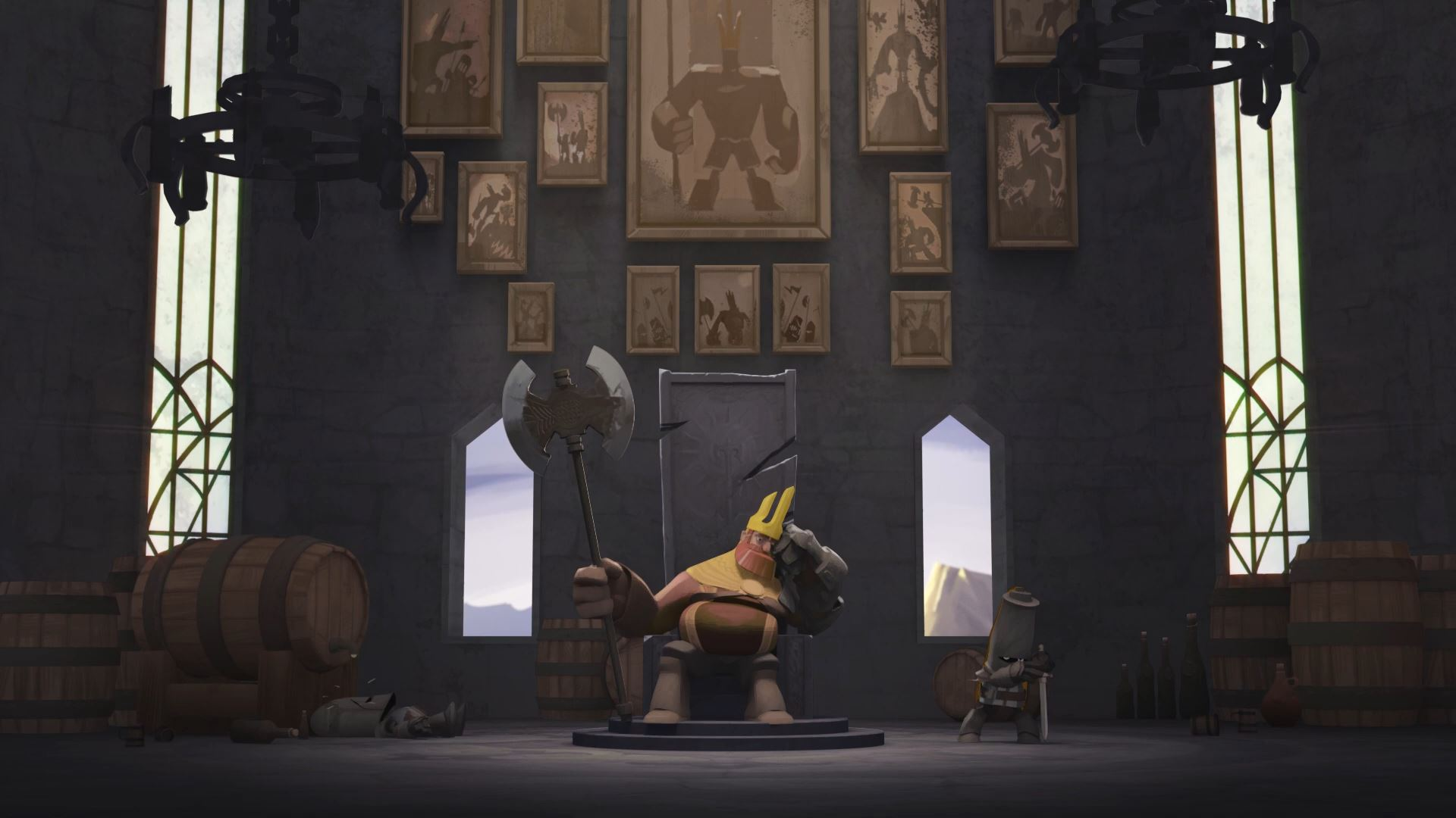 Animated Short: Royal Madness