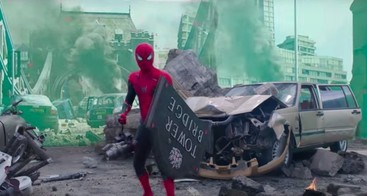 SPIDER-MAN FAR FROM HOME - A Digital London