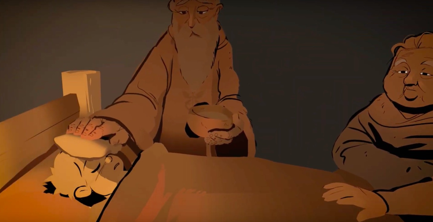 The Remedy - A VR story created in Quill