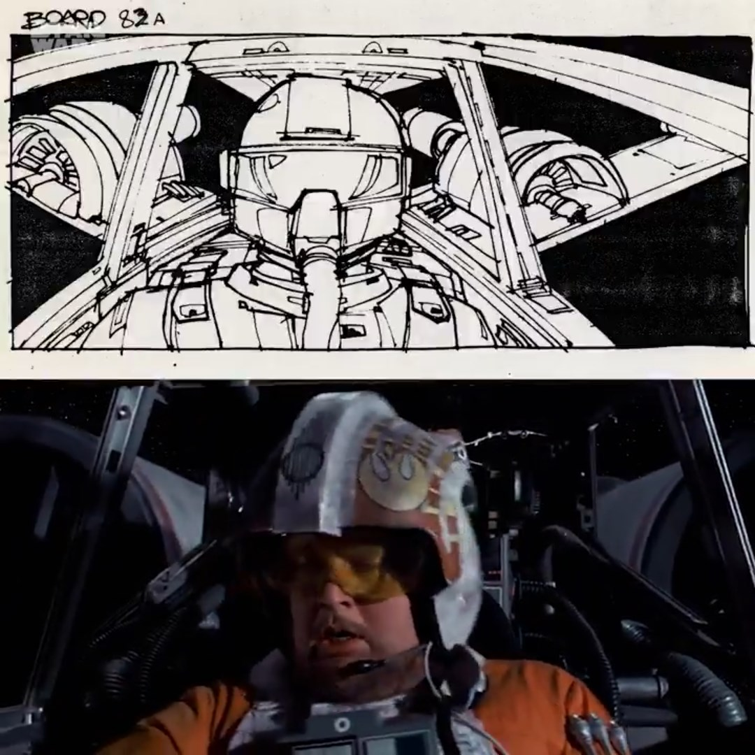 Star Wars: A New Hope From Storyboard to Final Screen