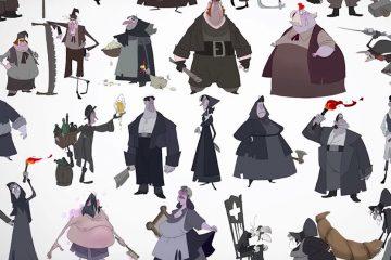 KLAUS - Character Design Process