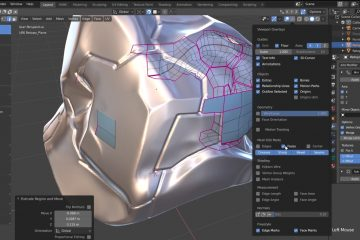 Blender Retopology