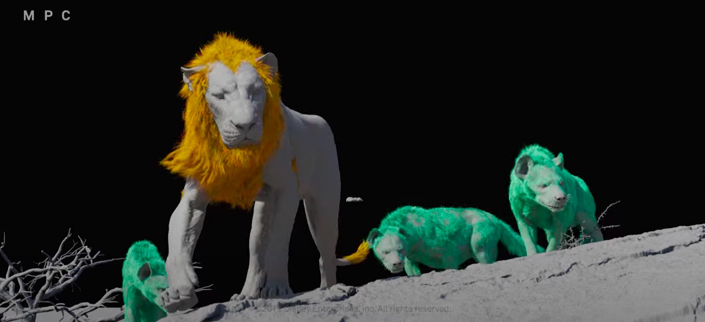 Making Of The Naturalistic effects of The Lion King