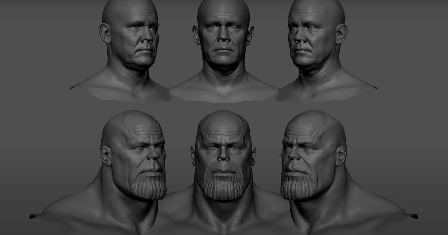 Making Of Thanos by Weta