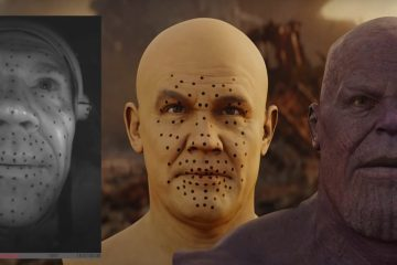 Making Of Thanos by Weta
