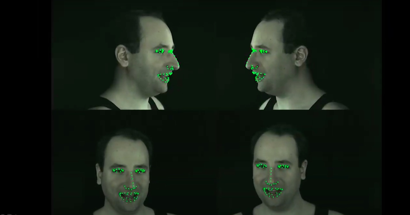 Attention Driven Cropping for Very High Resolution Facial Landmark Detection