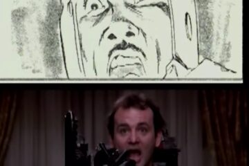 GHOSTBUSTERS - Storyboarding the Scene - Meet Slimer