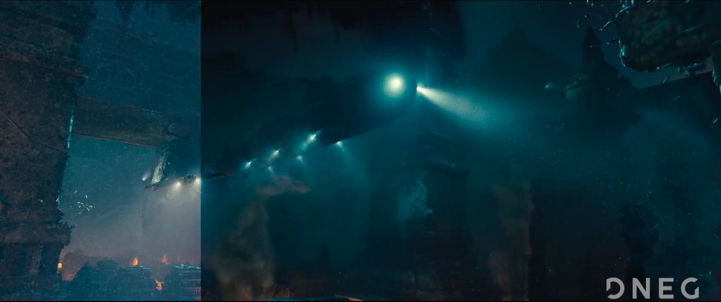 Godzilla King of the Monsters - Compositing VFX Breakdown by DNEG