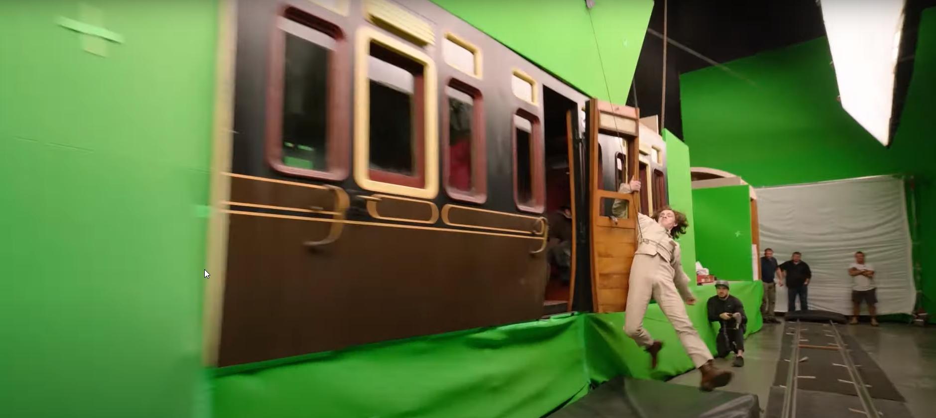 The VFX Behind The Enola Holmes Train Sequence
