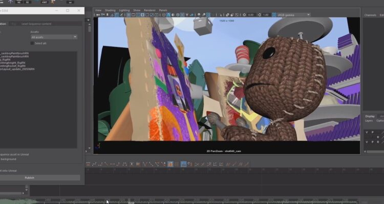 Sackboy A Big Adventure - Behind the Scenes by Axis Studio