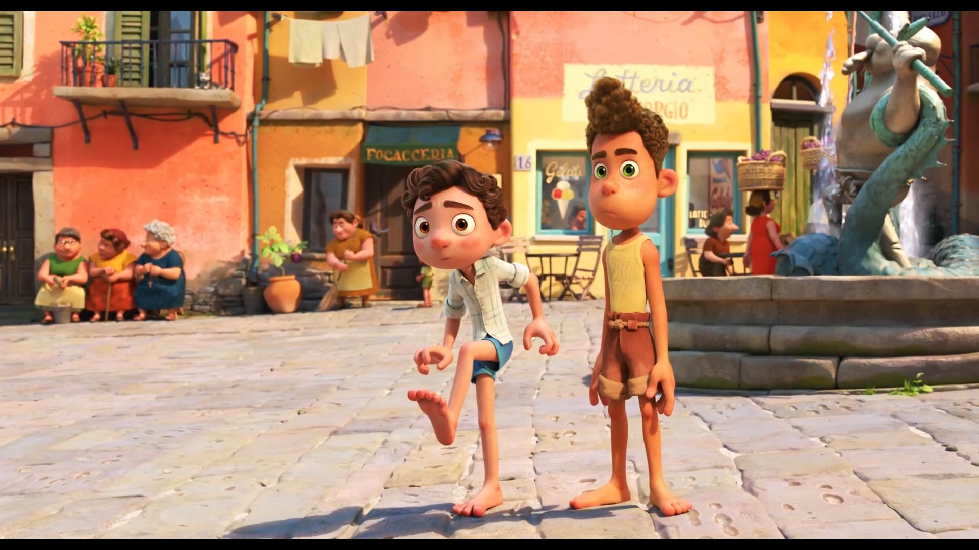 Disney and Pixar's Luca New Official Trailer